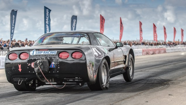 Fastest RWD car in CIS — Chevrolet Corvette C5 Turbo — 8.625 sec. on 1/4 mile