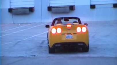 Father Teaches Daughter How to Do Donuts in a Corvette ZHZ