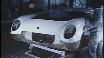 First Corvettes Being Built – 1953