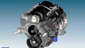 GM Corvette Engine Assembly LS2