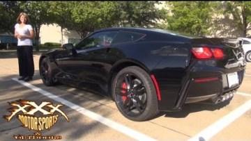 Guy Surprises Girlfriend with  2014 Corvette