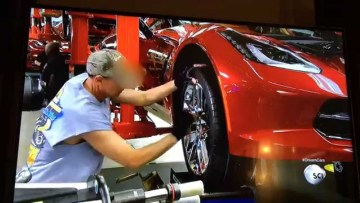How It's Made: C7 Corvette Stingray (clip 3 of 4)