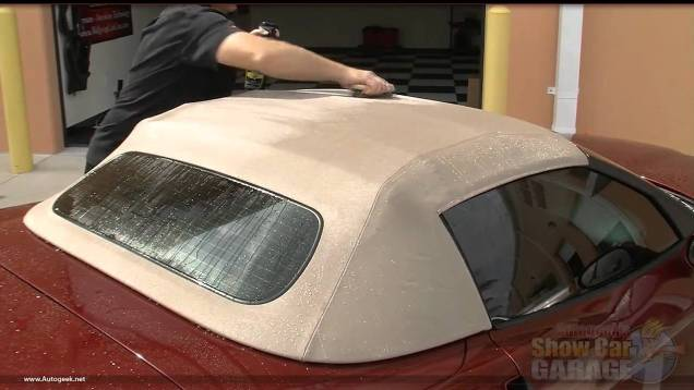How to properly protect your C6 Corvette canvas or vinyl convertible top