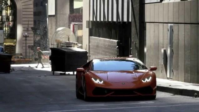 Lamborghini Huracan caught on video shoot in U.S.