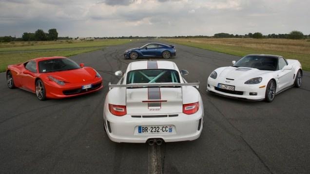 Laptime : 911 GT3 RS 4.0 / 458 Italia / Corvette ZR1 (Motorsport)