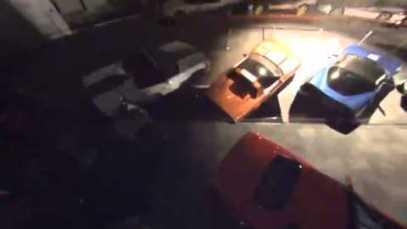 National Corvette Museum Sinkhole Security Camera Footage