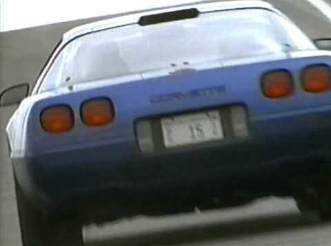 Promo Ad for Corvette ZR-1 (1995)