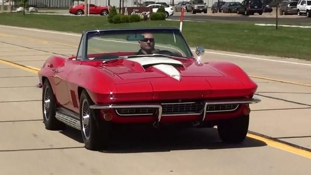 Test Driving 1967 Corvette 427 Big-Block 3×2 Carbs 435 Horsepower
