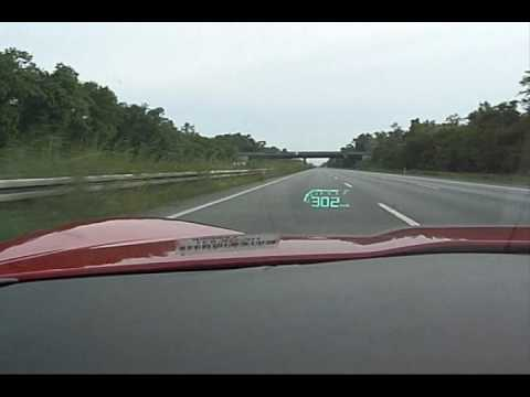Top Speed attempt in a stock 2007 Corvette Z06 - VetteTube ...