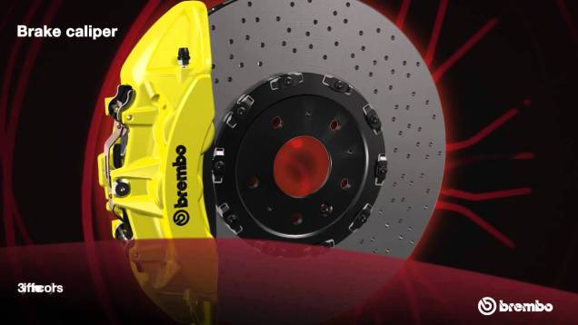 Brembo Brakes: Part of the Z07 Performance Package – 2015 Corvette Z06 | Chevrolet