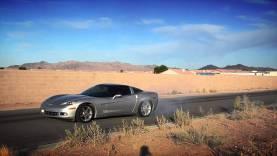 Corvette Burn Out