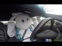 Easter Bunny SLAMS GEARS in 600hp Corvette Z06!