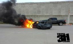 INSANE 150 MPH CRASH!  800 hp Corvette Crashes Street Racing