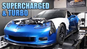 1500 HP Corvette ZR1 Keeps Factory Supercharger, Adds Massive Turbo