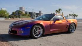 Chameleon Paint on Z06 Corvette