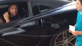 Dad Uses Corvette Z06 to Pull Son's Baby Tooth