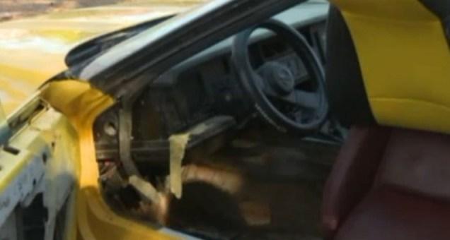 Man Taken Into Custody After Chopping Customer's C4 Corvette