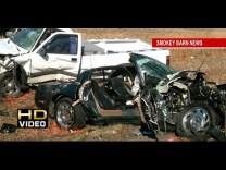 C4 Corvette Involved In Head On Crash on Hwy 49 in Springfield, Tennessee