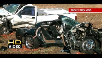 Fatal Crash Involving a C4 Corvette and Lamborghini Diablo