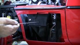C4 Corvette Cutaway Replace Battery