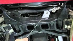 C4 Corvette Cutaway Steering Rack