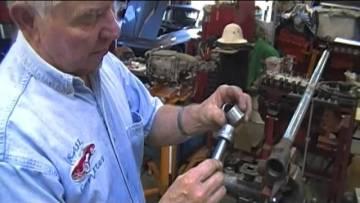 PART 6, STEERING GEARBOX REBUILD, CORVETTE 1953-1962