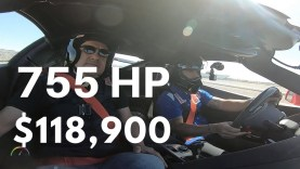 2019 Corvette ZR1 Hot Lap with Tony Kanaan at Las Vegas Motorspeedway
