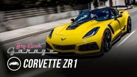 Jay Leno Looks at the 2019 Corvette ZR1 on Jay Leno's Garage