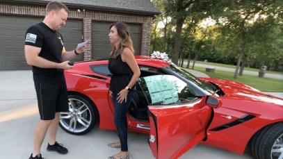 Wife Surprises Husband with a Brand New 2019 Corvette Stingray!