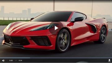2020 C8 Corvette in the Middle East