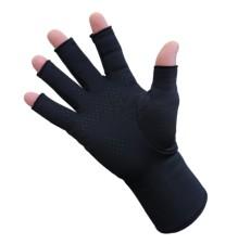 Infrared Fleece Open Finger Gloves Palm Grip