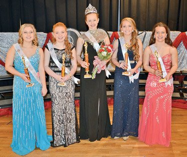 "The Switzerland County FFA chapter crowned its 2016 ""Queen of Hearts"" on Saturday night"