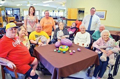 Residents and employees at the Swiss Villa Nursing and Rehabilitation Center are getting ready to host the community Easter Egg Hunt this Saturday. The event will begin at 10:30 a.m.