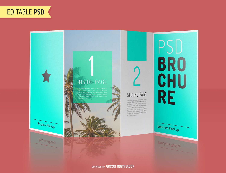 Brochure Mockup Template PSD PSD Download