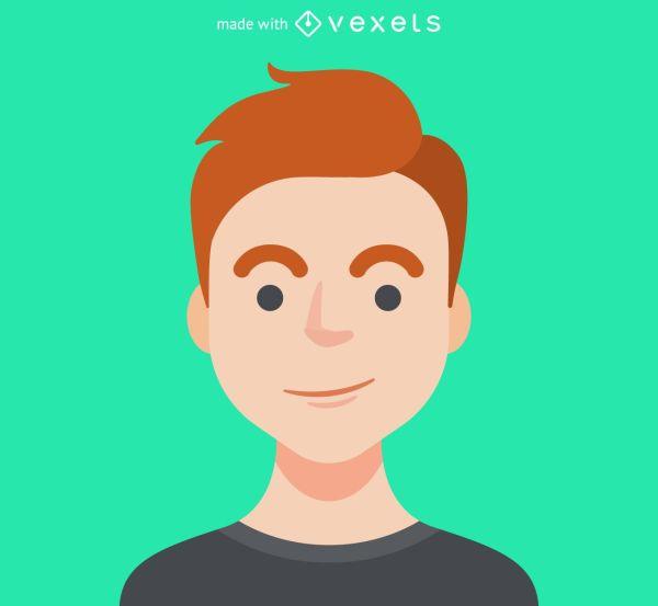 Male avatar maker Editable design