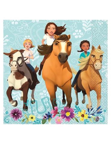 grande serviette cheval spirit 16