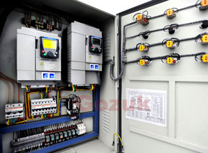 Variable Frequency Drive Control Panel VFD Panel