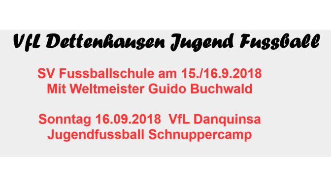 Infos zu SV Fussballschule und VfL Danquinsa Jugendcamp