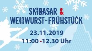 Skibasar mit Weisswurst-Frühstück @ Sporthalle Schönbuchschule | Dettenhausen | Baden-Württemberg | Deutschland