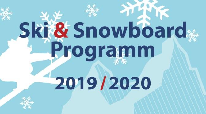 Programm Ski und Snowboard 2019/2020