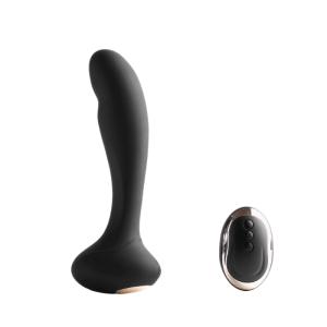 Rechargeable G-Spot Vibrator - Female Vibrator - Black Dildo| VforVibes