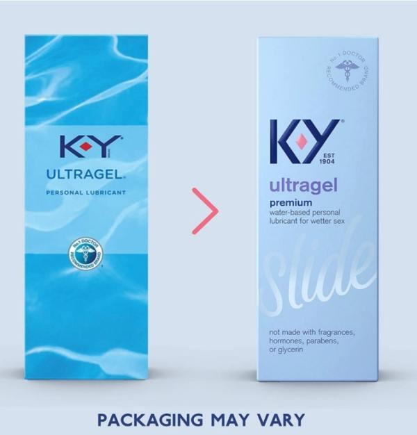 K-Y Ultra Gel, Personal Water based lubricant, ultra gel