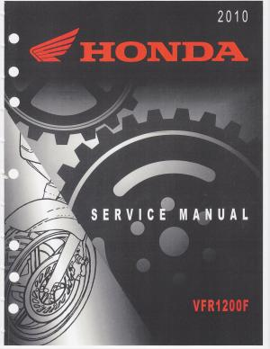Honda VFR 1200F Service Manual  Owners Manuals and other