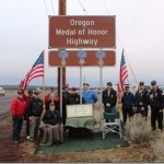 Hwy. 20 Medal of Honor Sign Dedication