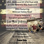Veterans Appreciation BBQ , August 25, 2018