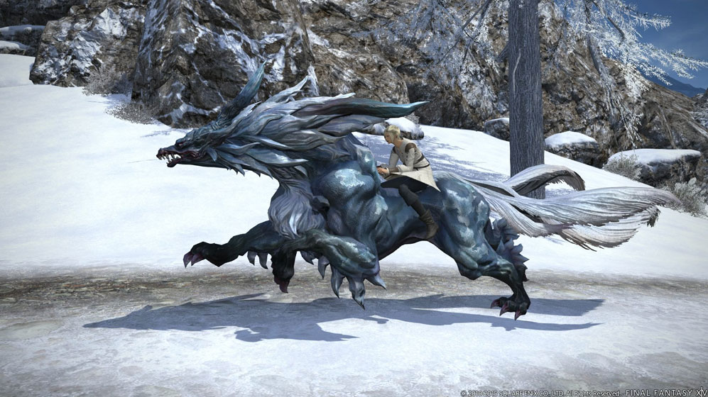 Final Fantasy XIV Mount Guide Contains Minor Story