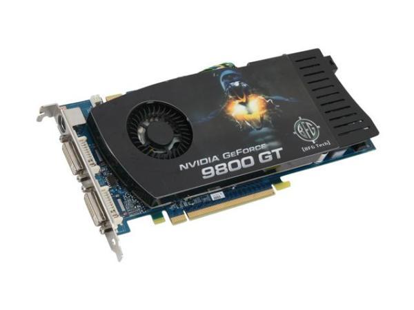 VGAStorecom BFG BFGE98512GTE GeForce 9800 GT 512MB 256