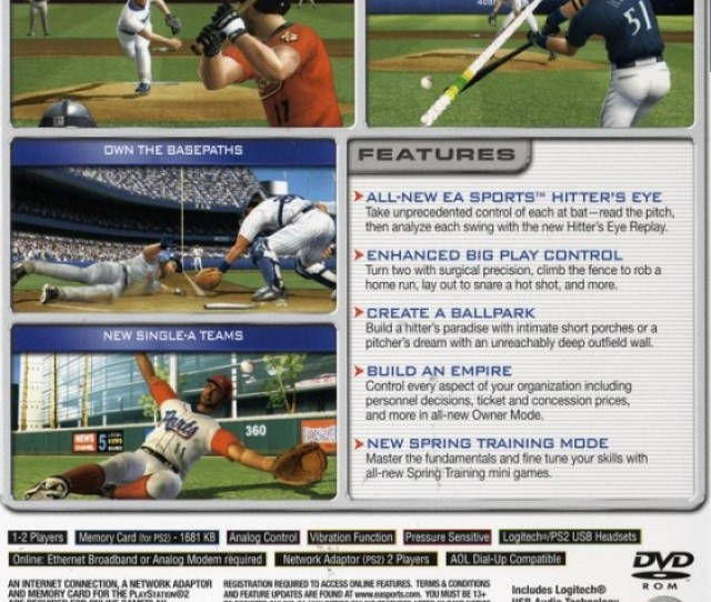 Mvp Baseball 2005 For Playstation 2 Sales Wiki Release Dates Review Cheats Walkthrough