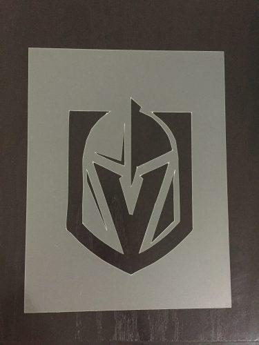 DIY Vegas Golden Knights Stencil