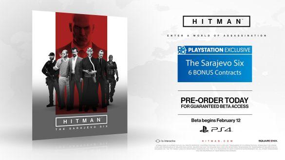 Il pack The Sarajevo Six sarà disponibile in esclusiva su PS4 e includerà sei contratti bonus.
